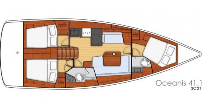 Rental yacht Rogač - Bénéteau Oceanis 41.1 on SamBoat