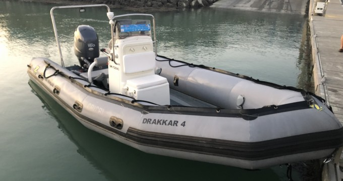 Hire RIB with or without skipper Bombard Granville