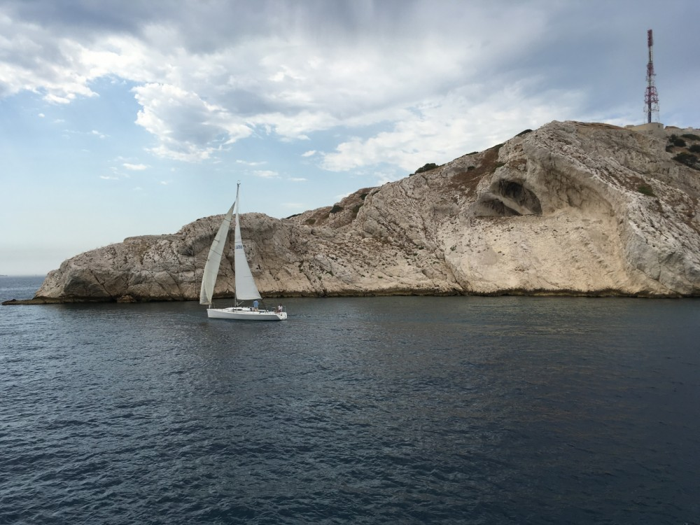 Rental Sailboat Archambault with a permit