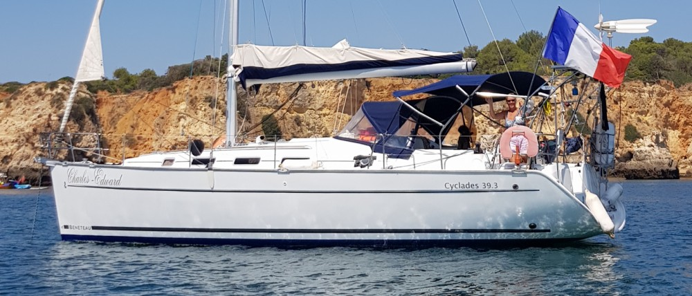 Hire Sailboat with or without skipper Bénéteau Algarve
