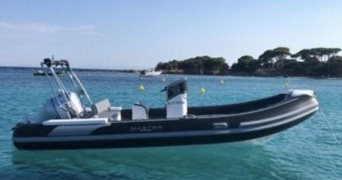 Hire RIB with or without skipper Master Porto-Vecchio