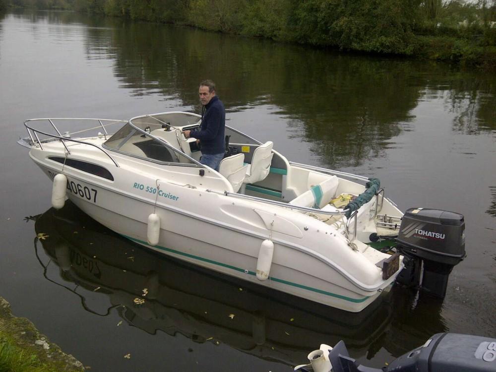 Boat rental Grez-Neuville cheap Rio 550 Cruiser