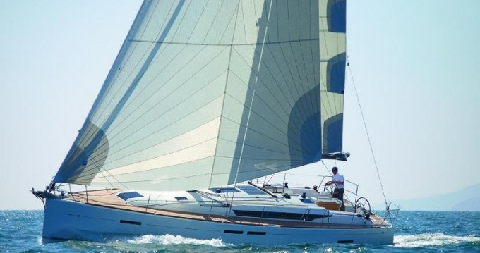 Jeanneau Sun Odyssey 449 between personal and professional Rhodes