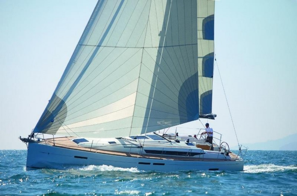 Jeanneau Sun Odyssey 449 between personal and professional Skiathos