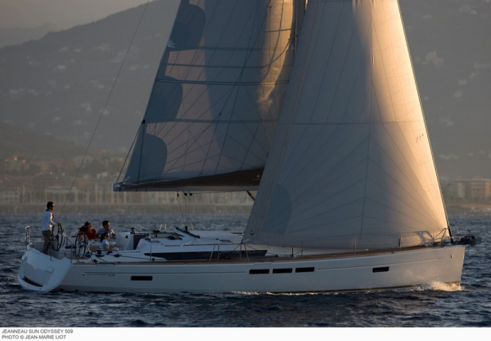 Jeanneau Sun Odyssey 509 between personal and professional Dubrovnik