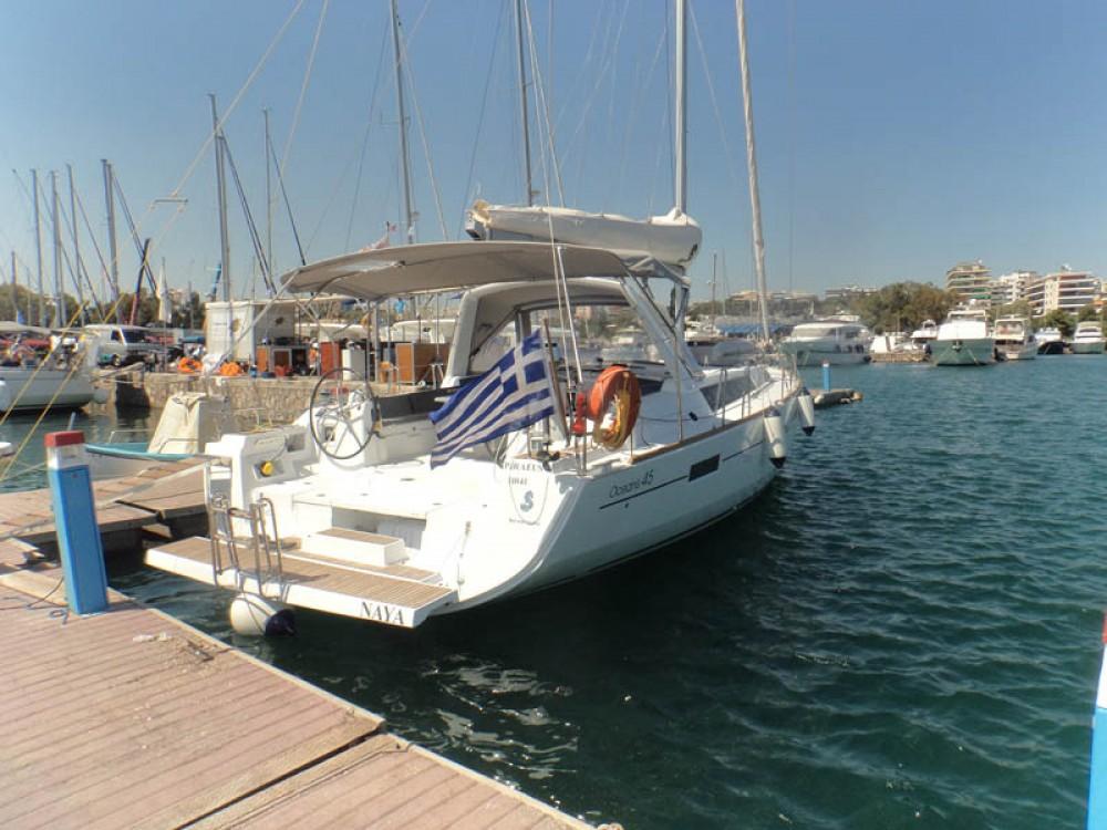 Rent a Bénéteau Oceanis 45 Greece