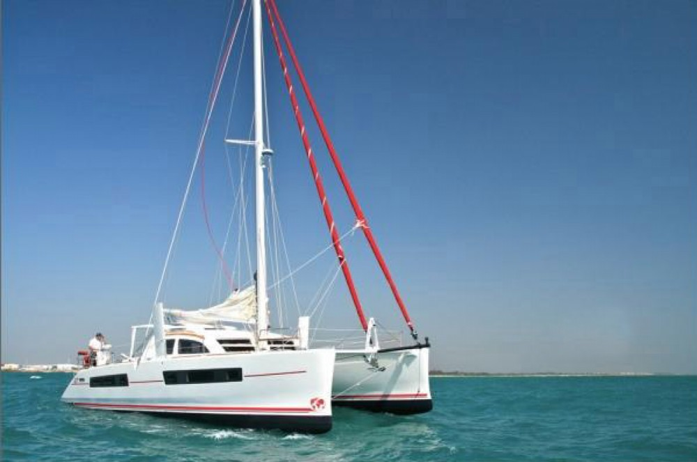 Boat rental Papeete cheap Catana 47 Carbon Infusion