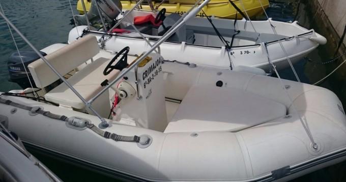 Boat rental l'Estartit cheap Yachtline 380