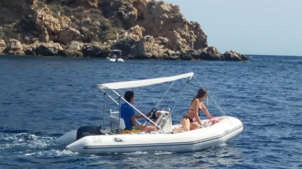 Rent a Zodiac Yachtline 380 Torroella de Montgrí