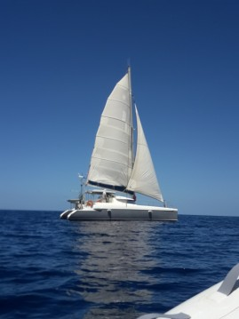 Fountaine Pajot Lavezzi 40 between personal and professional Basse-Terre