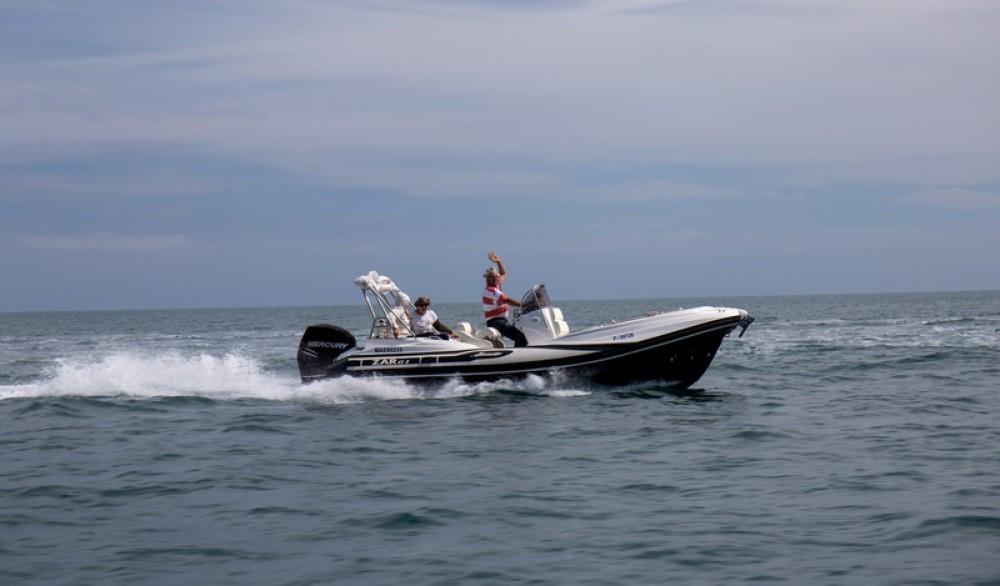 Hire RIB with or without skipper Zar Formenti La Grande-Motte
