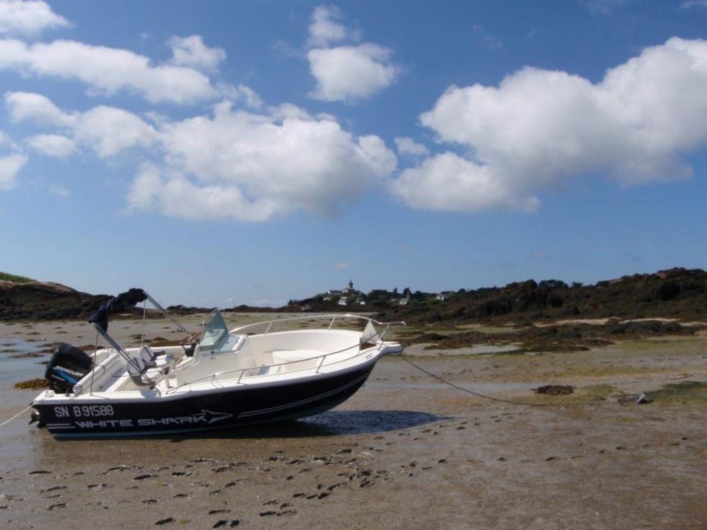 Boat rental La Rochelle cheap White Shark 205