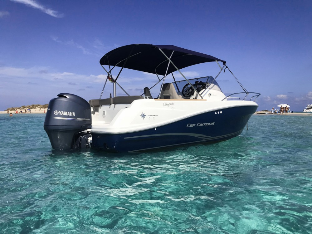 Hire Motor boat with or without skipper Jeanneau Marina Botafoch