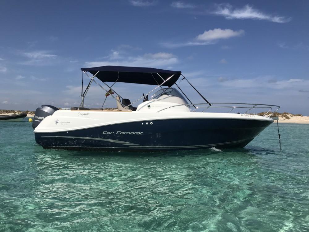 Rental Motor boat in Marina Botafoch - Jeanneau Cap Camarat 6.5 WA