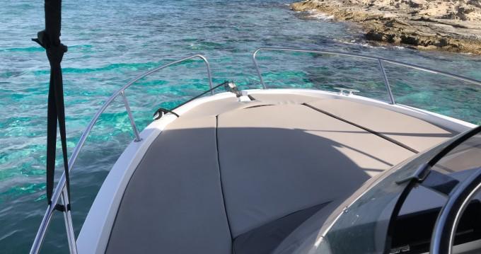 Jeanneau Cap Camarat 6.5 WA between personal and professional Ibiza Town