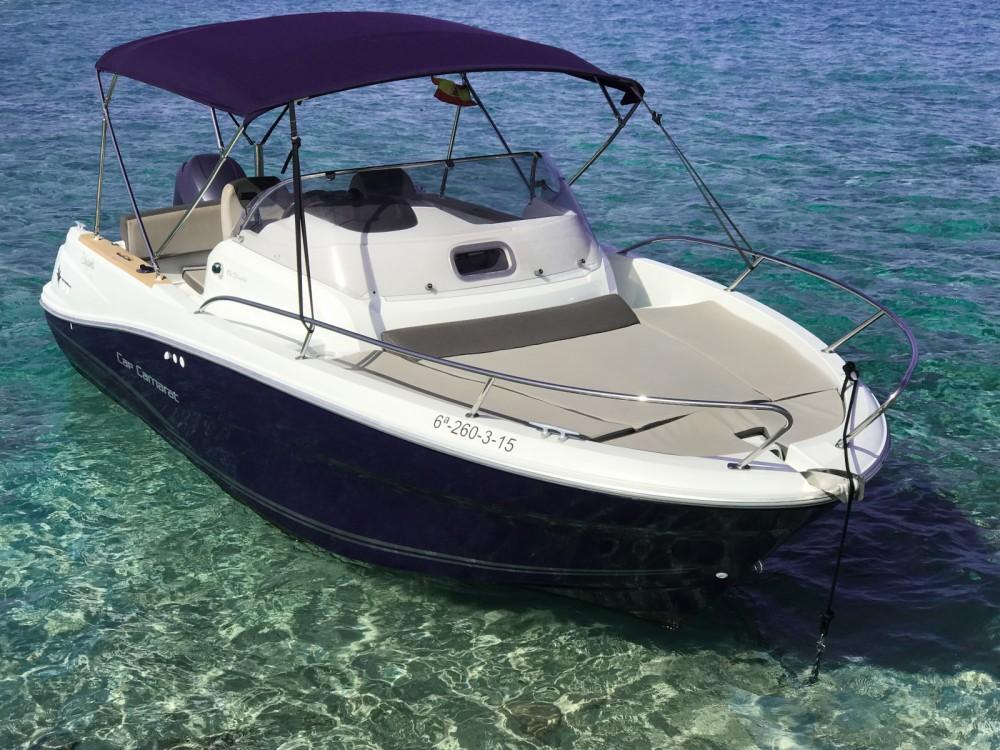 Boat rental Jeanneau Cap Camarat 6.5 WA in Marina Botafoch on Samboat