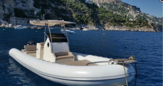 Boat rental Salerno cheap Scanner 800 D