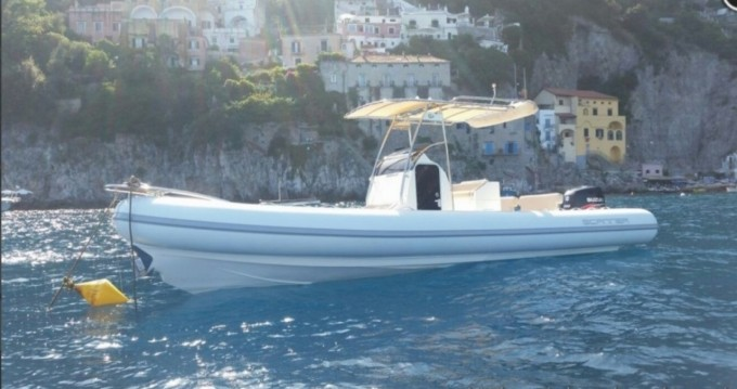 Rental RIB in Salerno - Scanner Scanner 800 D