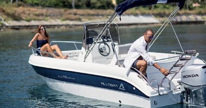 Rental Motorboat in Collioure - Allegra Boats All 19 Open