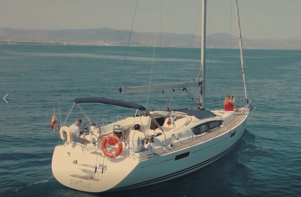 Jeanneau Sun Odyssey 42 DS between personal and professional Benalmádena
