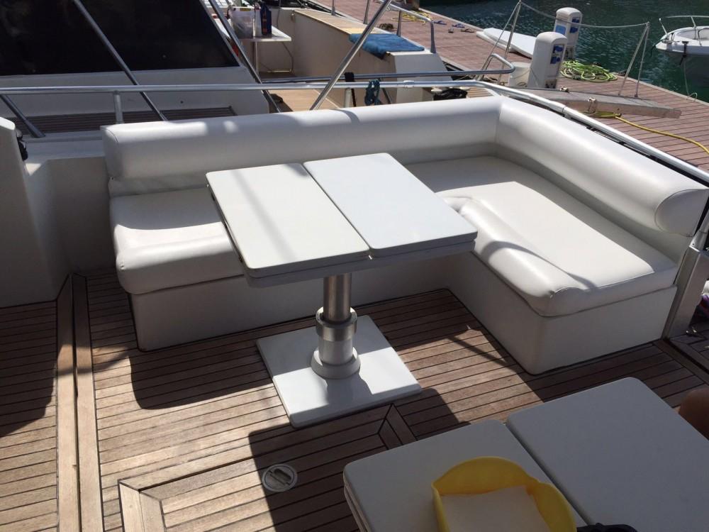 Rental yacht San Foca - Pershing 52 s  on SamBoat