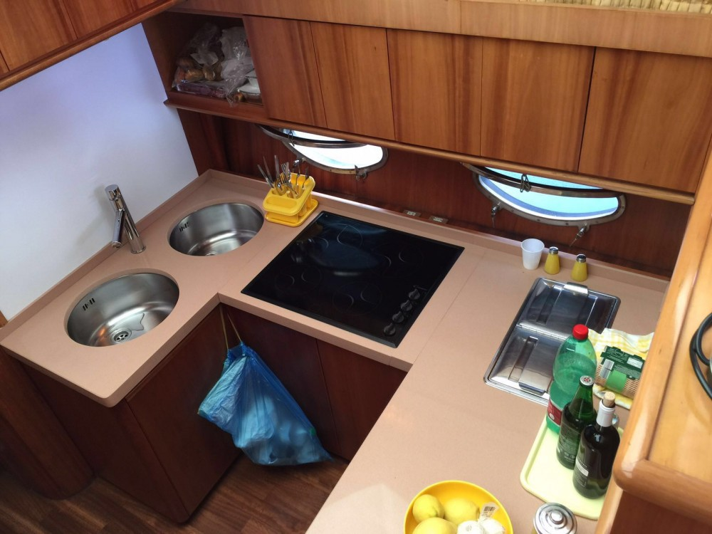 Pershing 52 s  between personal and professional San Foca