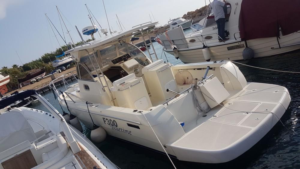 Rental Motor boat in Gallipoli - ZGROUP F300 BLUTIME
