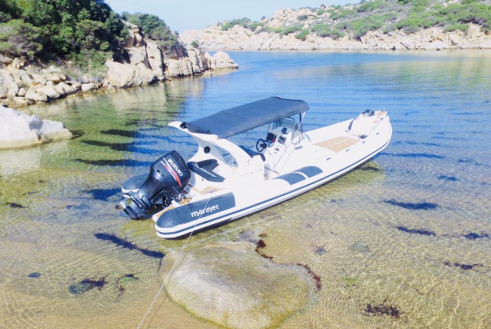Rental RIB in Campomoro - Marco Mac mariner 830