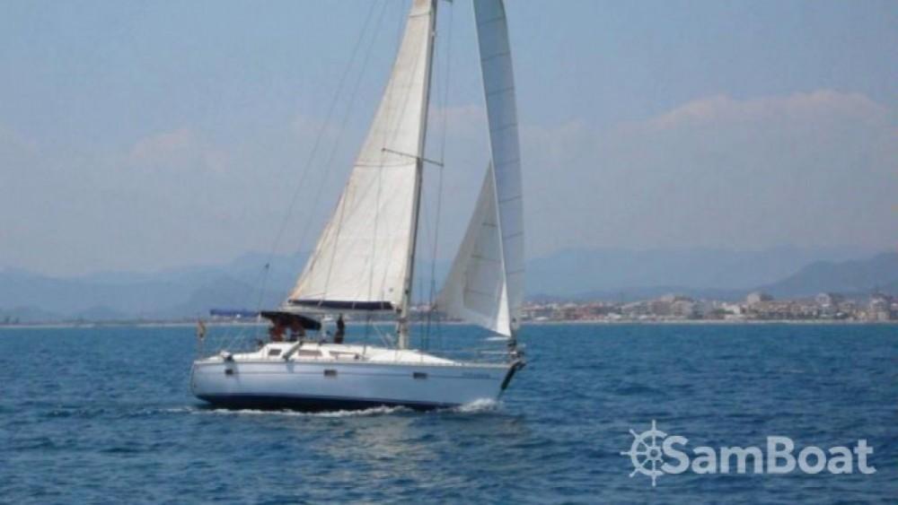 Boat rental Marseille cheap Sun Dance 36