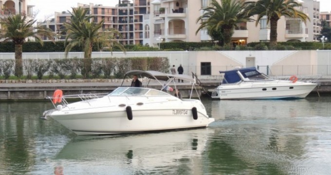 Hire Motorboat with or without skipper Sea Ray Mandelieu-la-Napoule