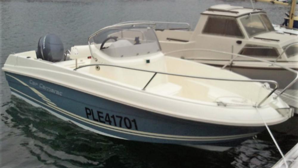 Rental yacht Perros-Guirec - Jeanneau Cap Camarat 5.1 CC Style on SamBoat