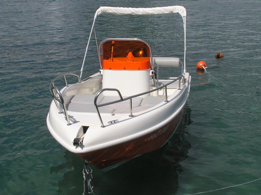 Boat rental Dubrovnik cheap Rascala 17