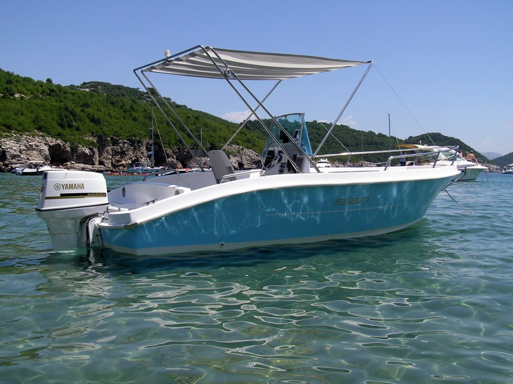 Boat rental Dubrovnik cheap Elan 18 CC