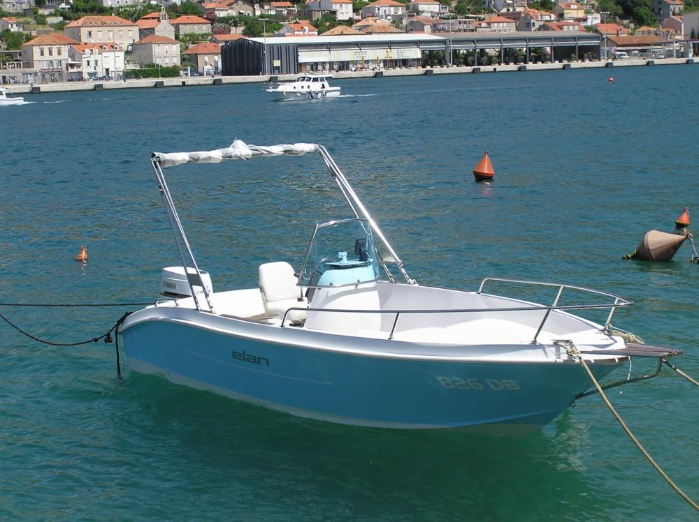 Rental Motor boat in Dubrovnik - Elan Elan 18 CC