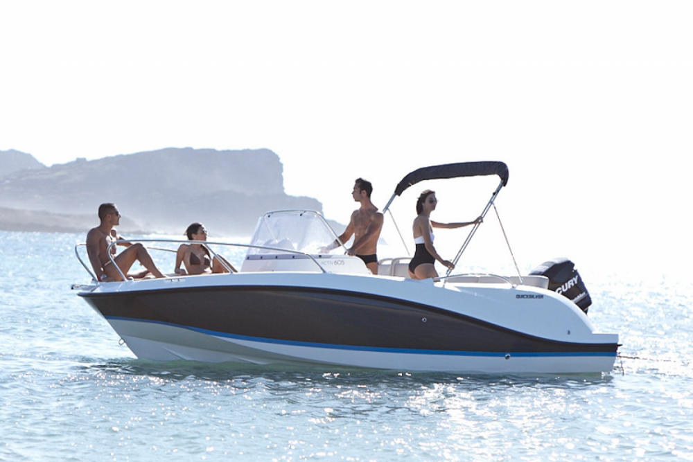 Boat rental Quimiac cheap Quicksilver 605 Open