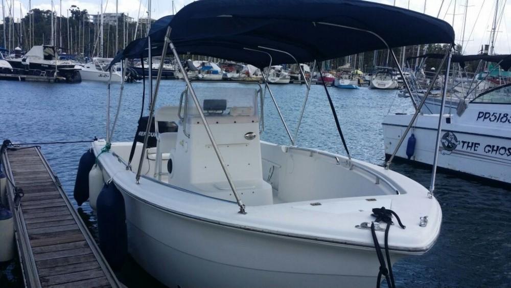 Rental Motor boat in Pointe-à-Pitre - Sea Pro  220c open