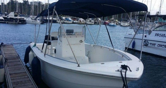 Rental Motorboat Sea Pro  with a permit