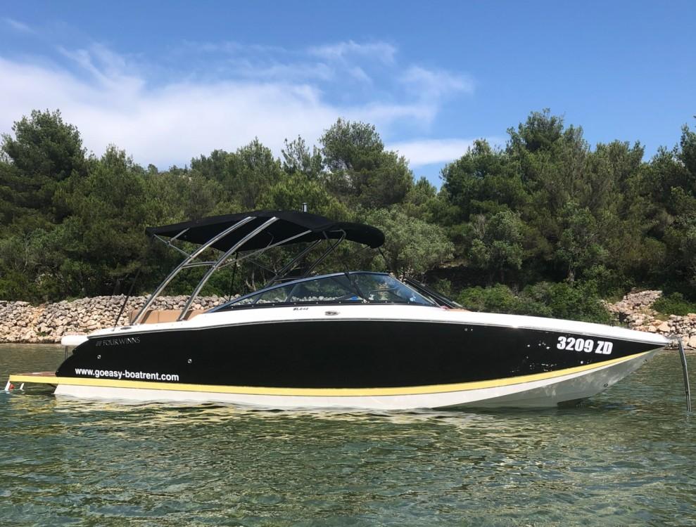 Rental Motorboat in Grad Zadar - Four Winns SL 242