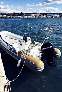 Hire RIB with or without skipper Italboats Zadar