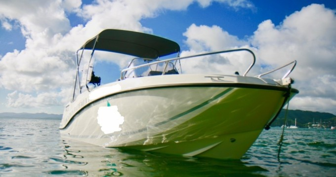 Boat rental Quicksilver Activ 555 Open in Sainte-Anne on Samboat