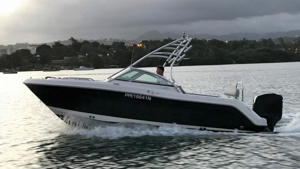 Rental Motor boat in Fort-de-France - Robalo R227
