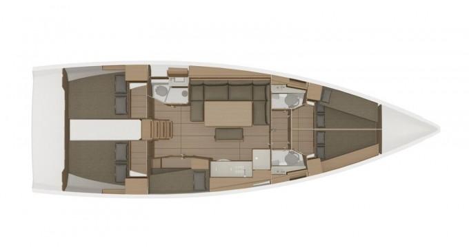 Rental Sailboat in Biograd na Moru - Dufour Dufour 460 Grand Large - 5 cabins