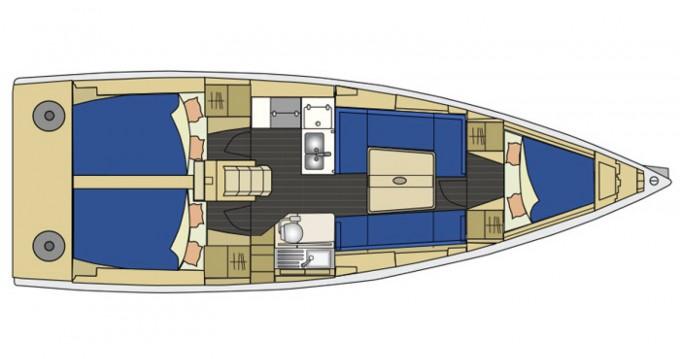 Rental yacht Biograd na Moru - Elan Elan 350 on SamBoat