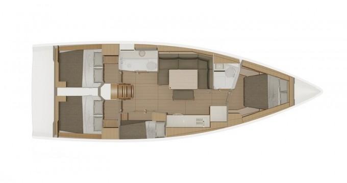 Rental Sailboat in Biograd na Moru - Dufour Dufour 430 Grand Large