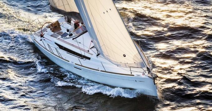 Boat rental Lefkas Egremni cheap Sun Odyssey 389