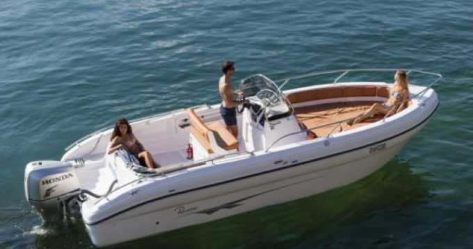 Hire Motorboat with or without skipper Ranieri Marsala