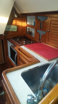 Rental Sailboat Barberis with a permit