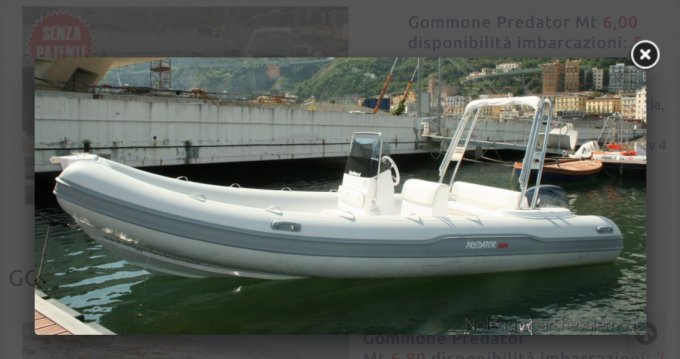 Rental yacht Salerno - Italboats Predator 599 AS on SamBoat