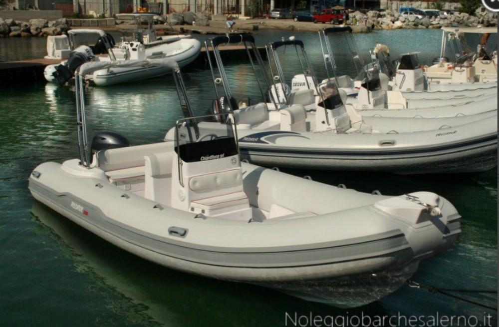 Boat rental Salerno cheap Predator 599 AS