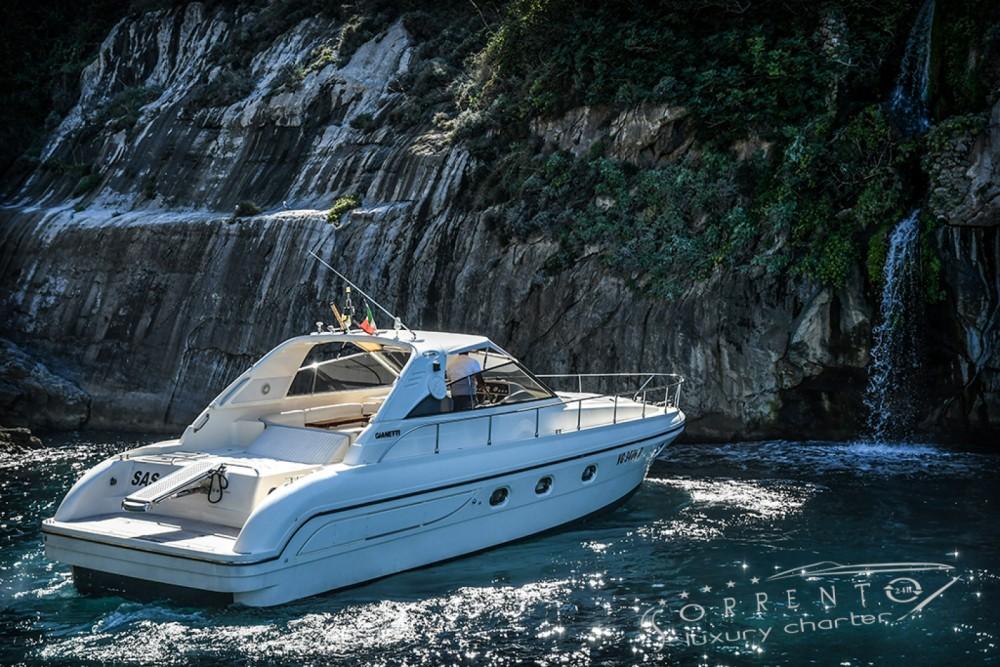 Boat rental Sorrento cheap Gianetti 45 Sport